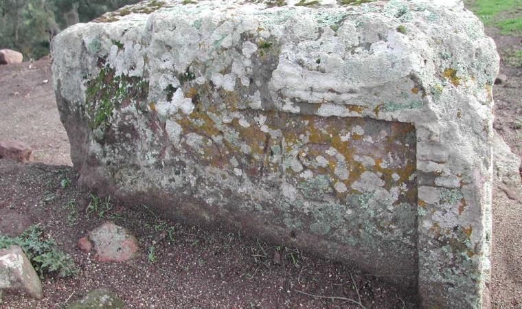 Tempio di Giove, altare - Bidonì
