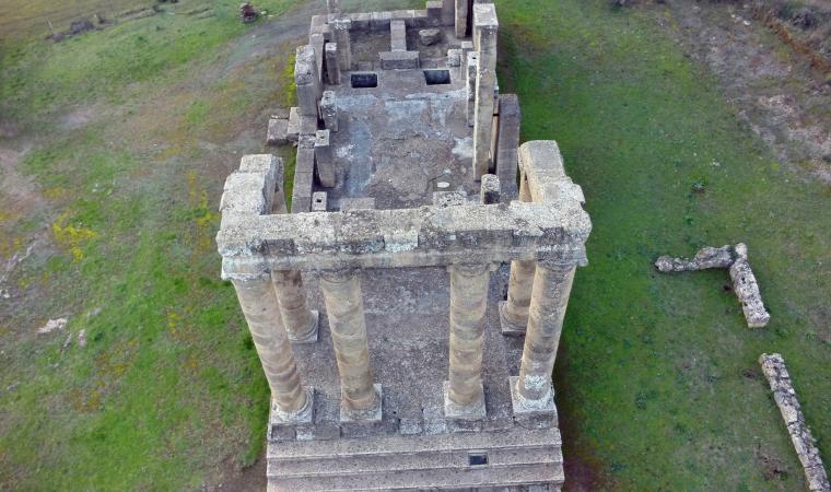Tempio di Antas, dall'alto