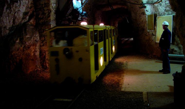 Interno grotta santa Barbara - Iglesias