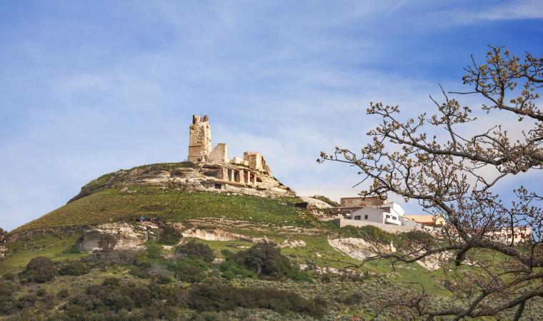 Veduta del castello dei Doria - Chiaramonti