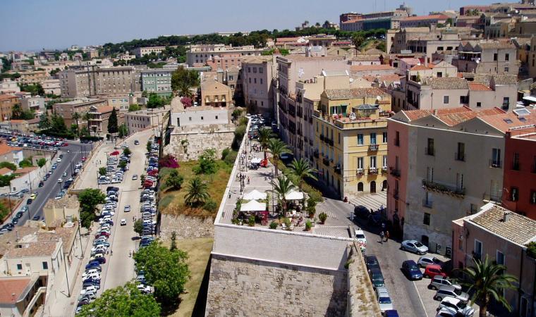Bastione di Santa Croce - Cagliari