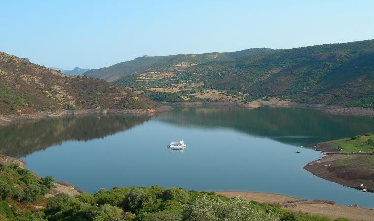 Lago Flumendosa, battello - Nurri