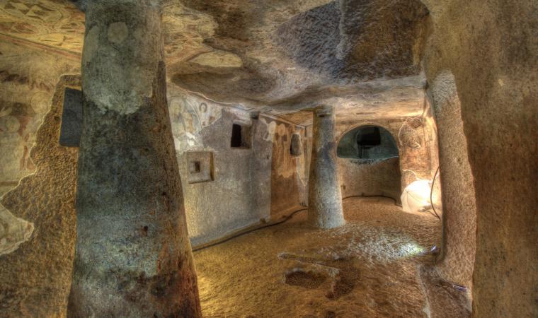 Sant'Andrea Priu, la tomba del Capo