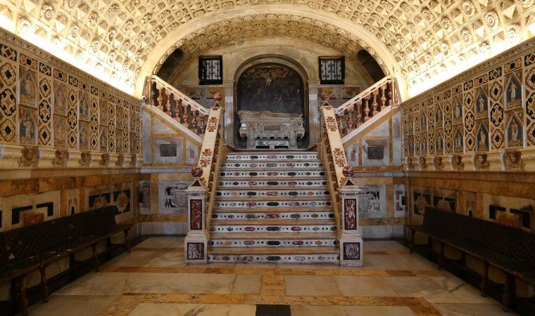 Santuario dei Martiri - Cripta cappella centrale della Madonna
