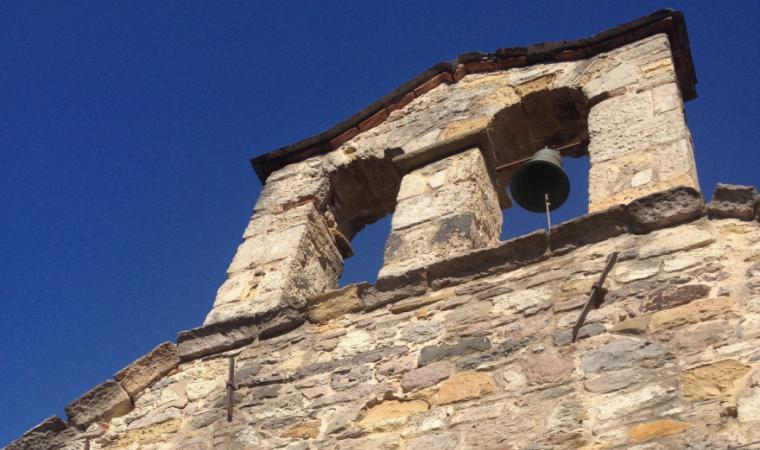 Chiesa santa Anastasia, campanile - Sardara