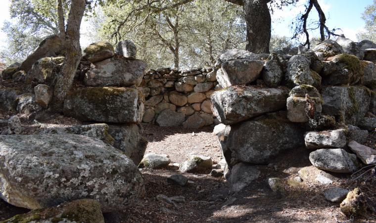 Sant'Efis, capanna nuragica - Orune