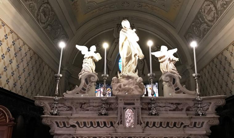 Cattedrale dell'Immacolata, particolare dell'altare