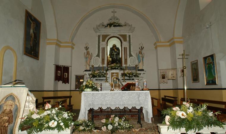 Santuario di san Francesco, interno - Lula