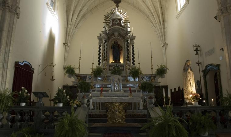 Chiesa di san Giacomo, interno - Mandas