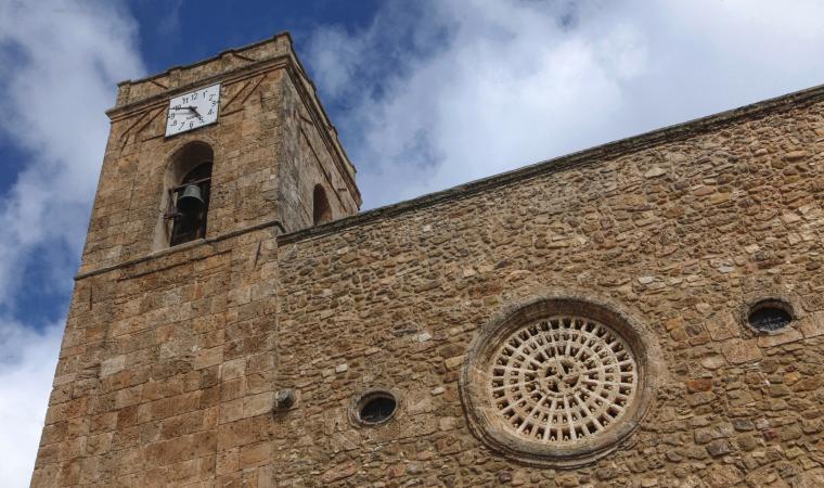 Chiesa di san Sebastiano, facciata - Escalaplano