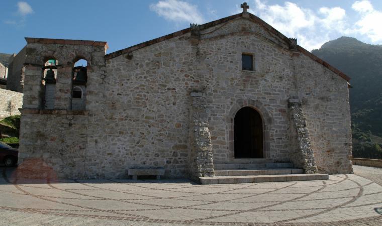 Chiesa santa Barbara - Olzai