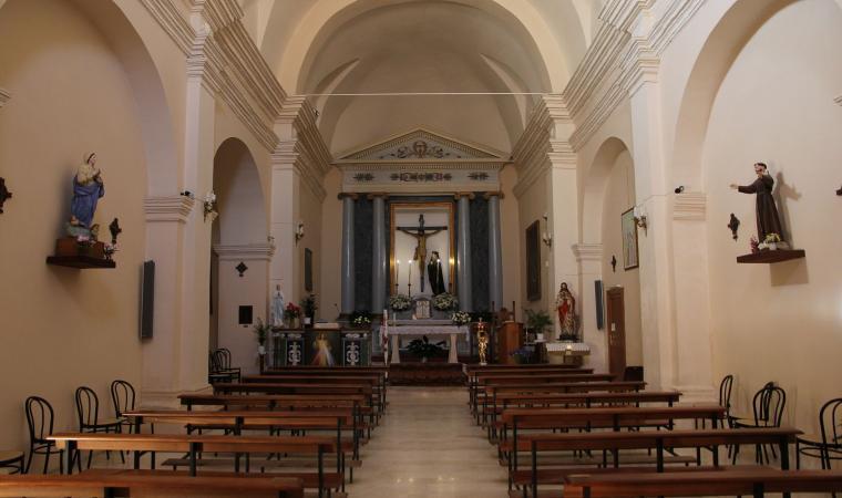 Chiesa di Santa Croce, interno - Codrongianos