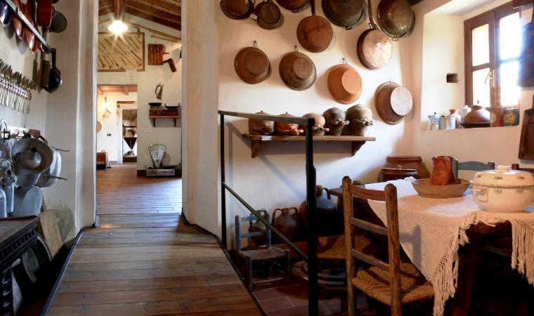 Cucina - museo_etnografico Mulino Licheri - Fluminimaggiore