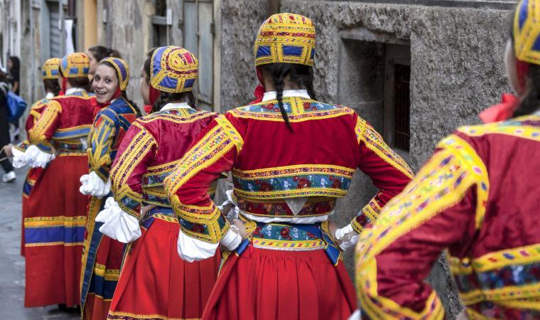 Donne in abito tradizionale - Desulo