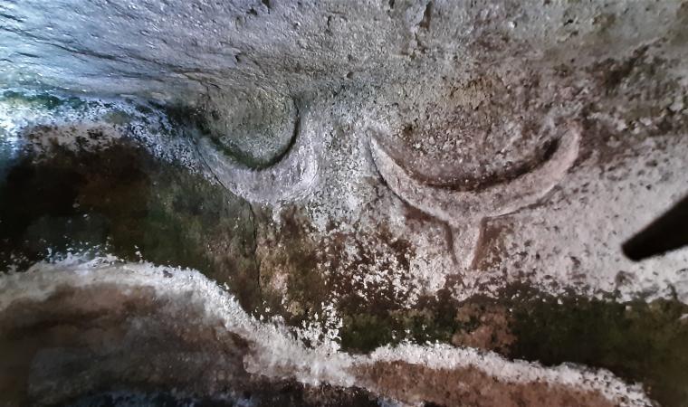 Su Crucifissu Mannu, protomi taurine - Portotorres