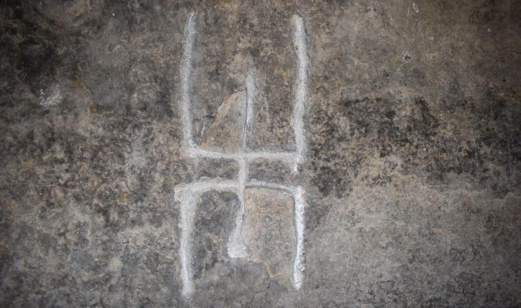 Petroglifo, particolare - Oniferi
