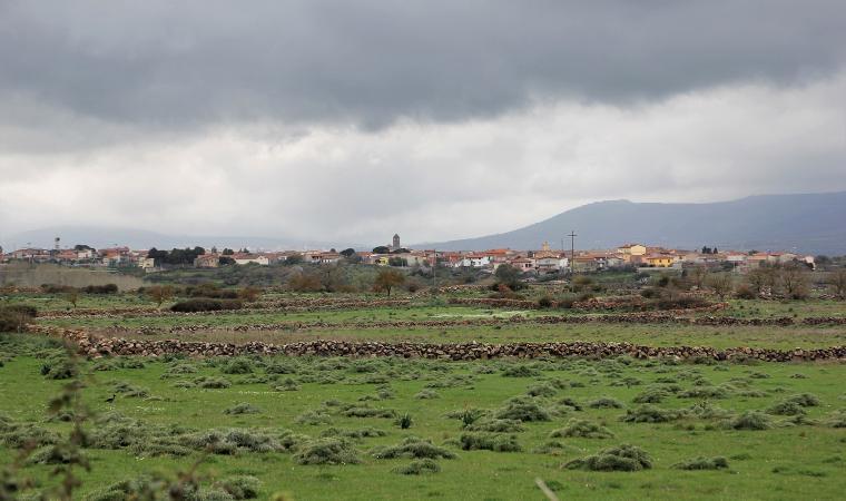 Veduta di Dualchi