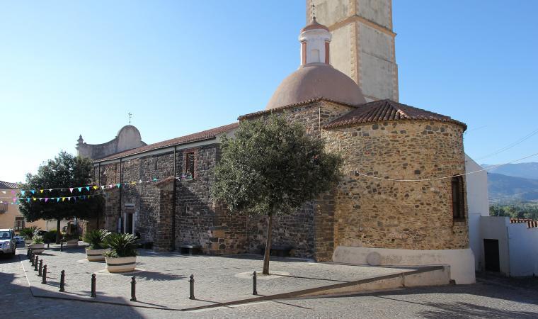Chiesa del Santissimo Crocifisso - Galtellì