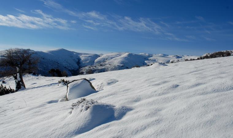 Gennargentu sotto la neve