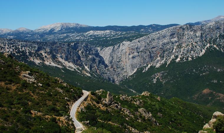 Gorropu - panorama
