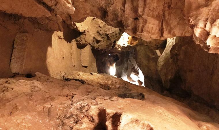 Grotta san Michele, interno - Ozieri