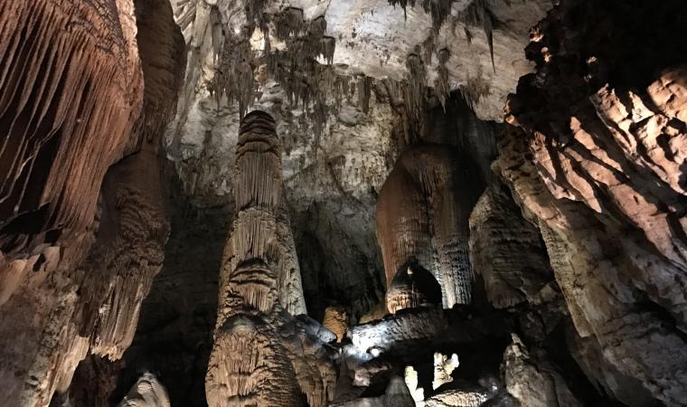 Su Marmuri, particolari interno grotta