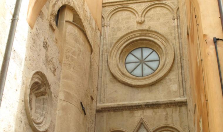 Duomo di Cagliari, particolare esterno