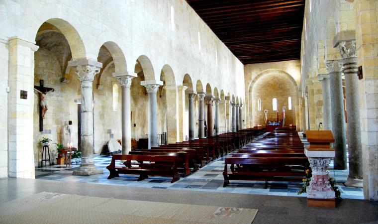 Basilica di San Gavino - Interno -  Porto Torres