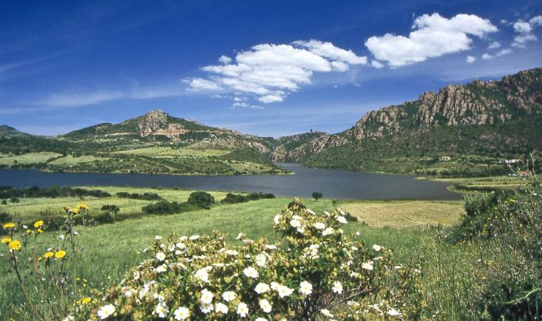 Lago Tisiennari - Bortigiadas