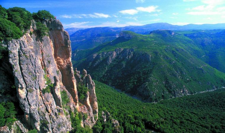 Monte Linas, graniti