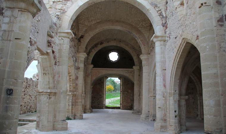 Chiesa di san Pantaleo, interno - Martis