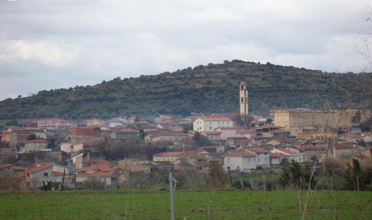 Veduta di Masullas