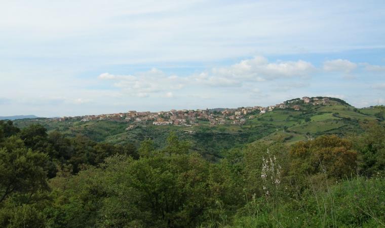 Meana Sardo - Skyline