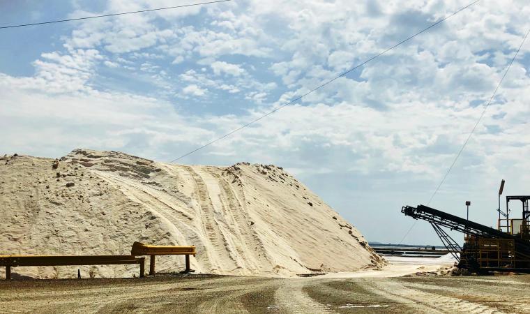Impianti e montagna di sale - Saline Conti Vecchi