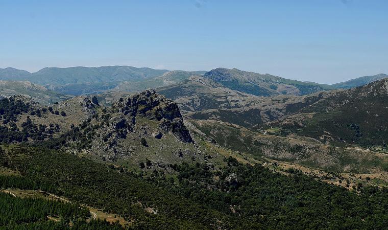 Monte Fumai - Vista monte Novo san Giovanni