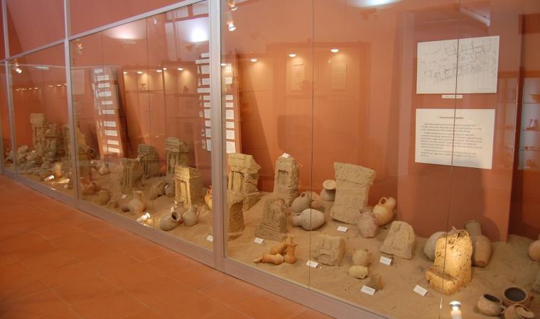 Museo Archeologico di Cabras, esposizione