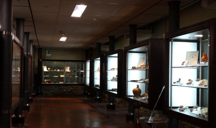 Esposizione interna museo Su Mulinu