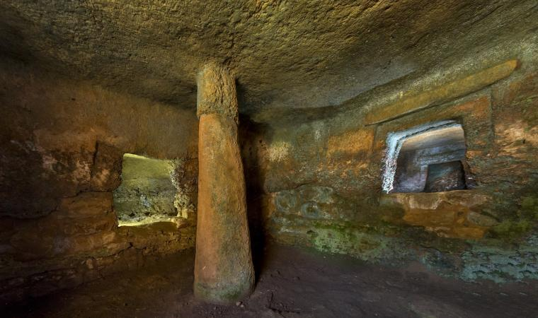Anghelu Ruju - Tomba del capo