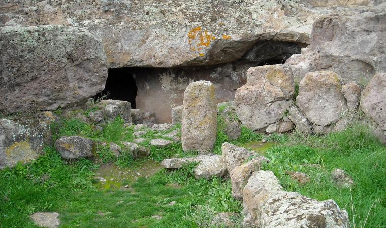 Necropoli di Montessu - Villaperuccio