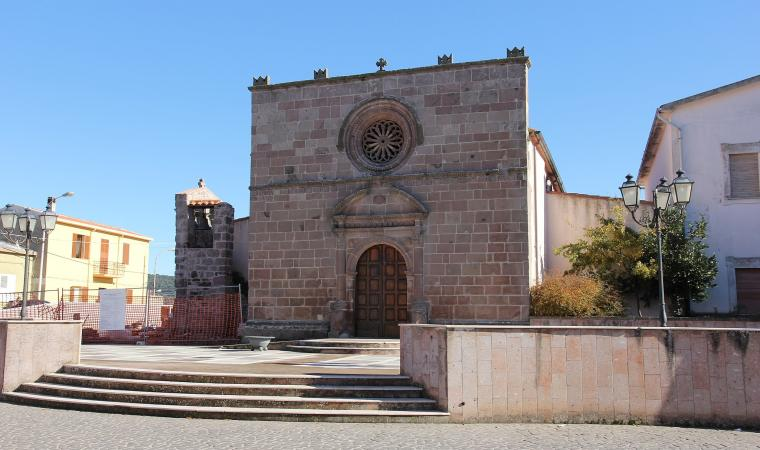 Parrocchiale di san Giacomo - Nughedu santa Vittoria