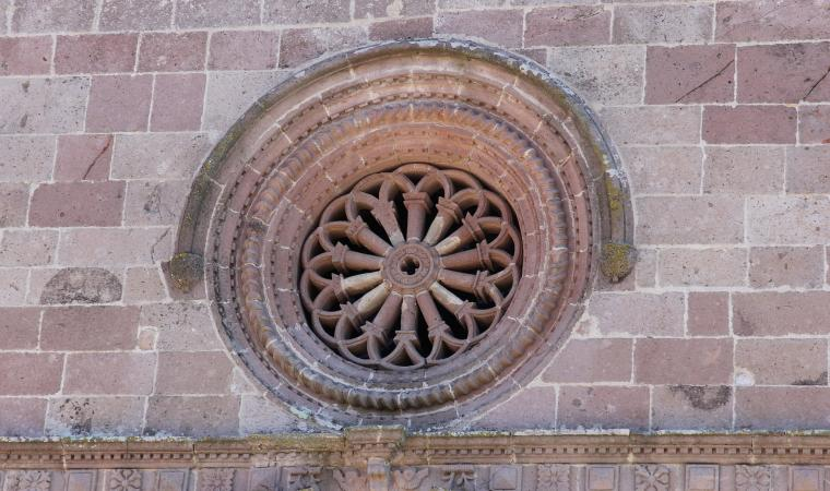 Chiesa di san Giacomo, dettaglio facciata - Nughedu santa Vittoria