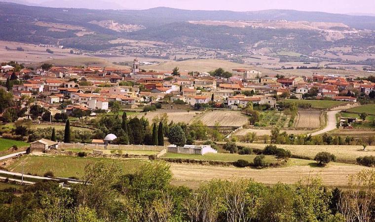 Panorama di Nuragus