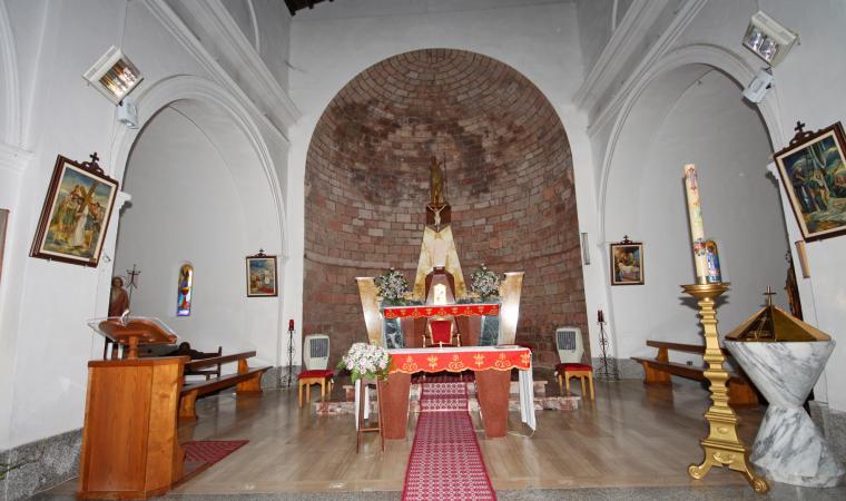 San Giovanni Battista, interno - Orotelli