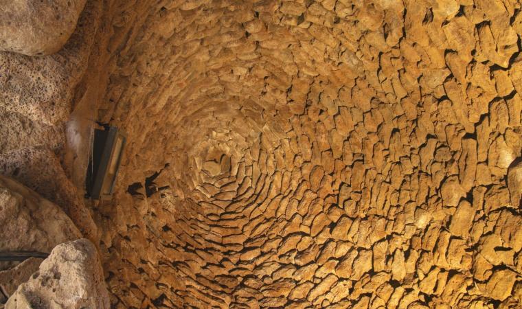 Nuraghe Arrubiu, cupola - Orroli
