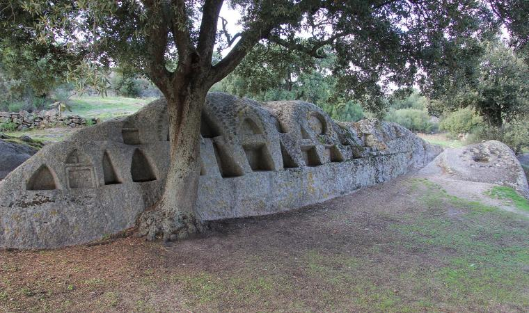 Altare rupestre di santo Stefano - Oschiri