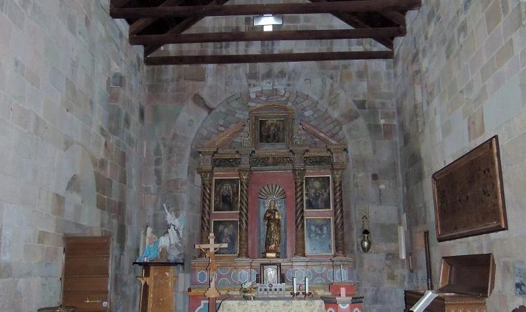 Nostra signora di Castro, interno - Oschiri