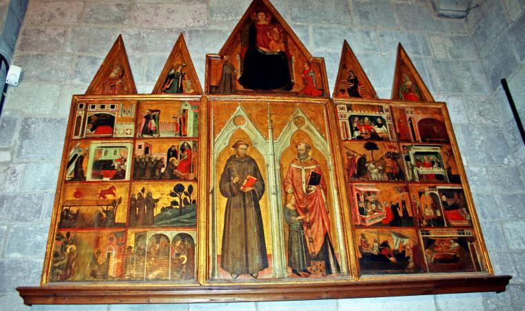 Chiesa di san Nicola, particolare interno - Ottana