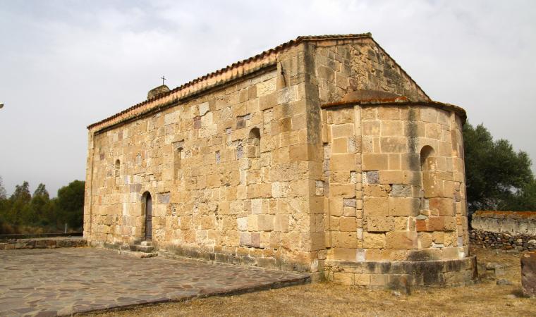 Chiesa di santa Maria di Palmas, retro - S.Giovanni Suergiu