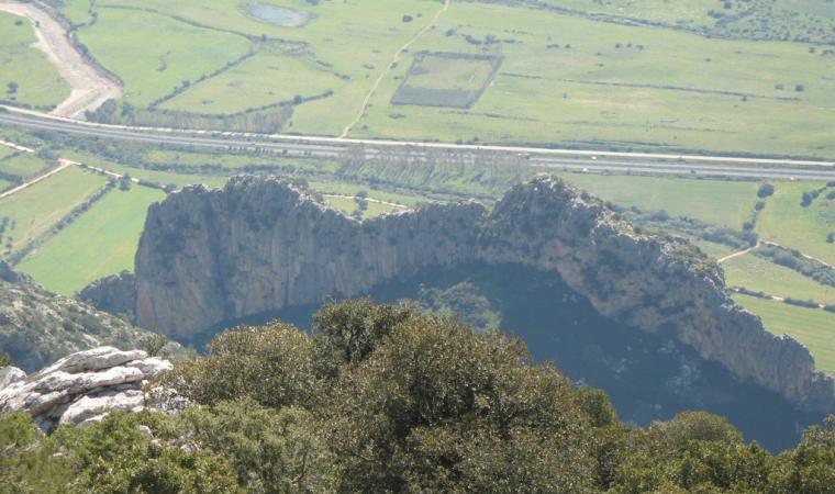 Panorama del monte Albo - Lodè