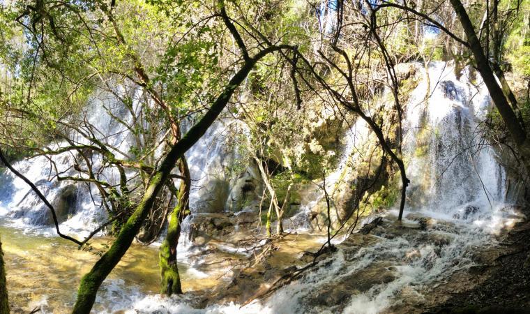 Funtana Is Arinus - cascata su Craddaxioleddu - Nurallao